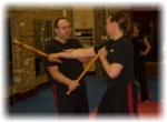 modern arnis - stick defense