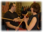 Modern Arnis - Stick defense - martial arts